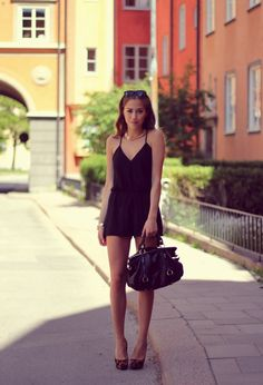 WEARING THE IVYREVEL PLAYSUIT