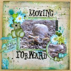 CreativeWorld: LO Moving Slowy Forward.....DT Vilda Stamps