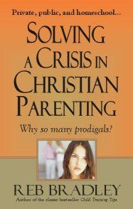 Well worth the read for every Christian family. Some aspects lean more Evangelical, but as a whole it is excellent cautionary advice.