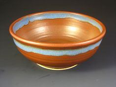 Ceramic Serving Bowl / Large Pottery Bowl / by DougSmithPottery, $42.00
