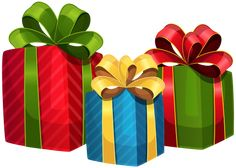 Colorful Gift PNG Clipart
