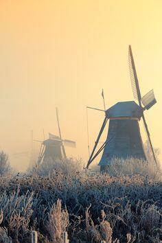 molinos Kinderdijk, The Netherlands