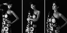 Glamour, Photography, Black, Dresses, Fashion, Vestidos, Moda, Photograph, Black People