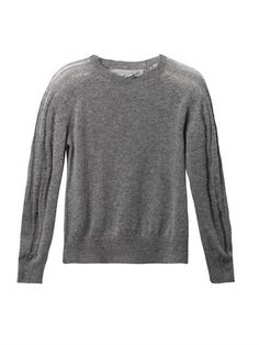 Shredded wool cashmere-blend sweater | Raquel Allegra | MATCHE...