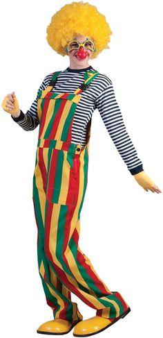 Striped Clown Costume