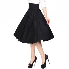 Chic Star Tracey High Waist Circle Skirt