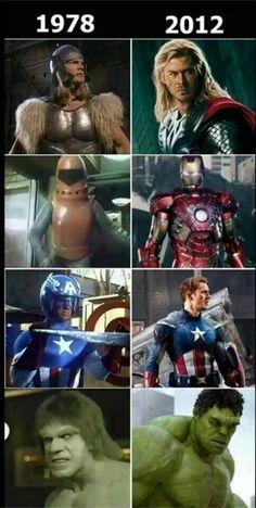 Marvel super hero's