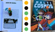 Hoy leemos: Multicosmos, aventuras virtuales a pico y pala #niñosquellen #CrisnasaBlog #literaturainfantil @Boolino
