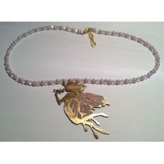 Enamelled Fairy Necklace