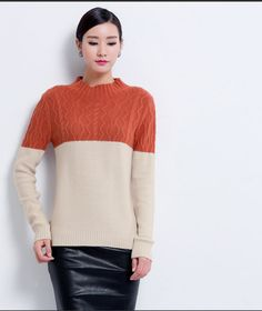 Cashmere Sweater Women Solid Patchwork Wool Women Sweaters And Pullovers Plus Size Clothing