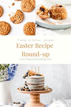 7 easy to follow Easter recipes to get you baking this Easter weekend.