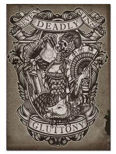 Gluttony by Se7en Deadly