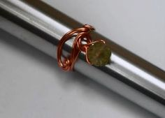 Offset Bead Wire Wrapped Ring Tutorial