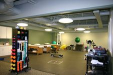 1000 images about physical therapy interior on pinterest for Physical therapy office layout