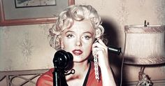How are those New Year's resolutions working out? Have you deleted your exes from social media? Is your apartment sparkling and homey and dust-free? Aren't you just loving subsisting on nothing but bee pollen and chia seeds? No?    Marilyn Monroe's 1955 Resolutions Were NOT Messing Around