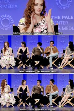 Holland and Dylan at PaleyFest 2015