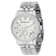 Buy Michael Kors Women's Chronograph Stainless Steel Bracelet Watch Online at johnlewis.com