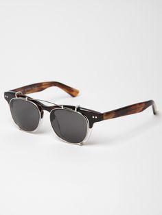 The Illesteva Lenox Half and Half Sunglasses
