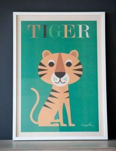 Mr Tiger Print