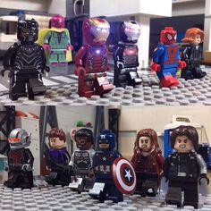 "akashlegoproductions: ""How many times have you seen Captain America: Civil War? Still not over this movie it was amazing. (5 full times for me) . . . . #TEAMCAP #captainamerica #captainamericacivilwar #legomarvel #legocaptainamerica #legoironman #ironman #legomarvelsuperheroes #teamironman #legoavengers #legoaddict #lego #legomania #legogram #finntoybox #legostagram #legosuperheroes #legophotography #tfol #toyslagram #toyphotography #toyslagram_lego #vitruvianbrix #brickleague #brickpals…"