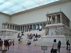 Pergamon Alter, Pergamon Museum, Berlin, Germany - no. 16 on the Top 25 World Museums list