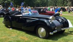 Once stashed away to survive World War II, 1939 Bugatti Type 57C takes Best in Show at Concours d'Elegance of America