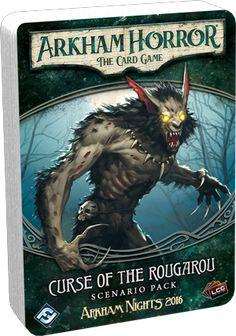 Arkham Horror: The Card Game – Curse of the Rougarou – Scenario Pack