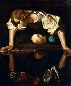 Michelangelo Merisi da Caravaggio - Narcissus -  1597-99