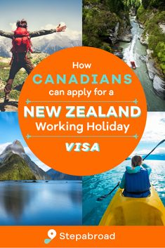 This step-by-step guide details how Canadians can apply for a New Zealand working holiday visa. This simple guide covers the requirements and eligibility for being granted the visa, which allows Canadians to work and travel in New Zealand for up to 1 year. Working Holiday Visa, Working Holidays, Work Travel, Step Guide, 1 Year, New Zealand, To Go, How To Apply, Canning