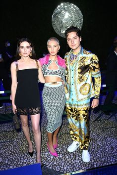 Zoey Deutch, Front Row, Special Events, Versace, Captain Hat, Spring Summer, Hats, Milan Fashion, Hat