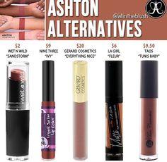 Abh liquid lipstick dupe in color Ashton // @kathrynglee123