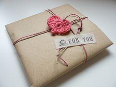 Broche Flor de Crochet rosa pastel, Crochet, Broches