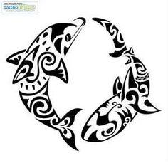 shark tattoos designs   Pin Tattooingtattoodesigns Maori Dolphin And Shark Tattoo picture to ...