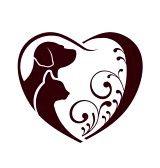 dog cat heart tattoo