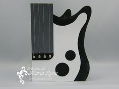 Une guitare électrique Stampin UP - Scrapbooking Stampin Up Canada   Cartes d'anniversaire et d'invitation   Faire part mariage   Jardin de Papier