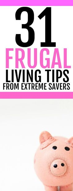 Want to start living a more frugal life? If you want some money saving ideas, check out this list of tips that will help you to save money and live frugally. These frugal living ideas & money saving tips will increase your wealth and let you live a simpler life. Learn from extreme cheapskates how you can cut costs on your household bills. Great list of money saving ideas for SAHM, college students and anyone who wants to save money easily.