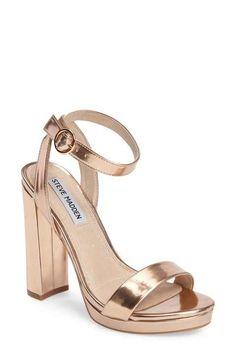 25a52828f19d94 Steve Madden Addon Strappy Sandal (Women) High Heel Pumps