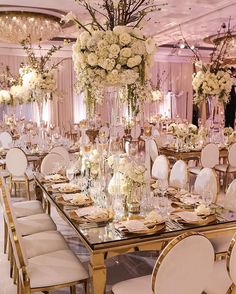 Elegant wedding decor - свадебные и Wedding Table Centerpieces, Wedding Reception Decorations, Wedding Themes, Wedding Designs, Wedding Events, Wedding Dresses, Reception Table, Centerpiece Flowers, Wedding Parties