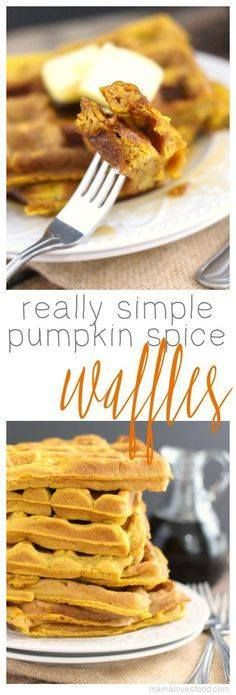 we make this all yea we make this all year! so good!!! Simple...  we make this all yea we make this all year! so good!!! Simple Pumpkin Spice Waffles Recipe Recipe : http://ift.tt/1hGiZgA And @ItsNutella  http://ift.tt/2v8iUYW