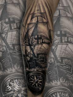 Blackgrey Ship Compass Tattoo by: #Prima #MaTattooBali #ShipTattoo #CompassTattoo #BaliTattooShop #BaliTattooParlor #BaliTattooStudio #BaliBestTattooArtist #BaliBestTattooShop #BestTattooArtist #BaliBestTattoo #BaliTattoo #BaliTattooArts #BaliBodyArts #BaliArts #BalineseArts #TattooinBali #TattooShop #TattooParlor #TattooInk #TattooMaster #InkMaster #AwardWinningArtist #Piercing #Tattoo #Tattoos #Tattooed #Tatts #TattooDesign #BaliTattooDesign #Ink #Inked #InkedBoy #Inkedmag #BestTattoo… Ma Tattoo, Piercing Tattoo, Tattoo Shop, Tattoo Studio, Tattoo Master, Ink Master, Tattoos For Guys, Cool Tattoos, Tattoo Ideas