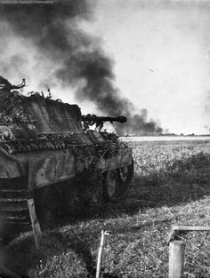 """""""Panzer V Panther Tank"""". It seems common for some folks to confuse the terms for German tanks during World War II, perhaps because of the translation issue or simply because the terms sound alike."""