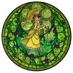 Jane`s stained glass window - Disney Leading Ladies Fan Art (27969257) - Fanpop fanclubs