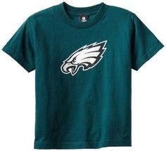 NFL Philadelphia Eagles Youth 8-20 Short Sleeve T-Shirt Primary Logo by NFL. $8.55