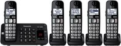 Panasonic plus 1 Handset DECT Plus Cordless Phone System with Answering Machine. · Six Cordless Handsets. Limitations and Exclusions Apply (full details will be included with your user manual). Cup Phones, Cordless Telephone, Electronic Dictionary, Electronics Companies, Caller Id, Printer Scanner, Best Phone, Gadgets And Gizmos, Landline Phone