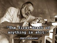 """""""Tee prosessi ideoinnille ja noudata sitä. Ja kirjoita vasta, kun sinulla on jotain mitä kirjoittaa."""""""