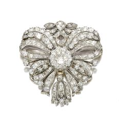 Diamond brooch from the late 18th century, possibly Portuguese