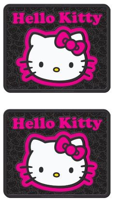 Hello Kitty Collage Hot Pink Sanrio Car Truck SUV Rear Seat Utility Rubber Floor Mats - PAIR - https://www.caraccessoriesonlinemarket.com/hello-kitty-collage-hot-pink-sanrio-car-truck-suv-rear-seat-utility-rubber-floor-mats-pair/  #Collage, #Floor, #Hello, #Kitty, #Mats, #Pair, #Pink, #Rear, #Rubber, #Sanrio, #Seat, #Truck, #Utility #Hello-Kitty