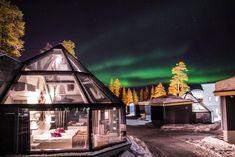 Santa's Hotels' Glass Igloos