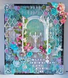 'One Hundred Years' canvas - Scrapbook.com