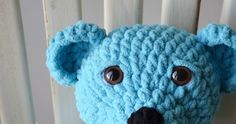 My daughter saw a crochet bear made with Bernat Baby Blanket Yarn at a craft show that she loved. When I spotted the yarn on sale on Black ...